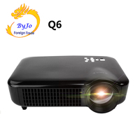 2019 NEW ByJoTeCH Q6 5000 lumens Home Theater Full 1080P 4K 2K Android Projector Beamer Support USB HDMI Proyector WIFI