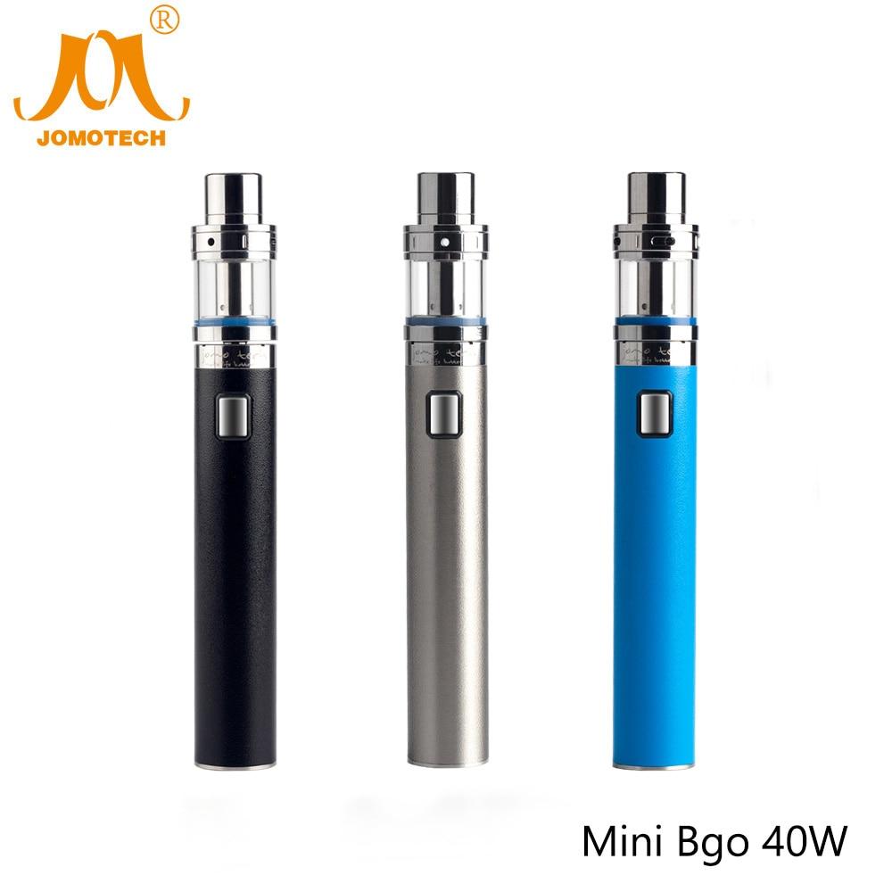 Original JomoTech Elektronische Zigarette Mod Kit 40 Watt Vaper Mod 2200 mAh Mini Bgo 40 Watt ohm e-zigarette Kit VS Mini Istick Jomo-187