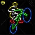 Неоновая световая вывеска для велосипеда  спортивного пивного магазина  комнаты  окна  неоновая лампа  вывеска для магазина  дисплей  настоя...