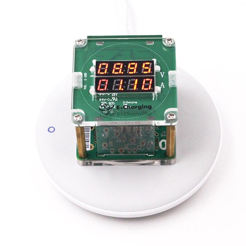 где купить Qi Wireless Charger Test Rack Aging Rack Compatible 5W/10W дешево
