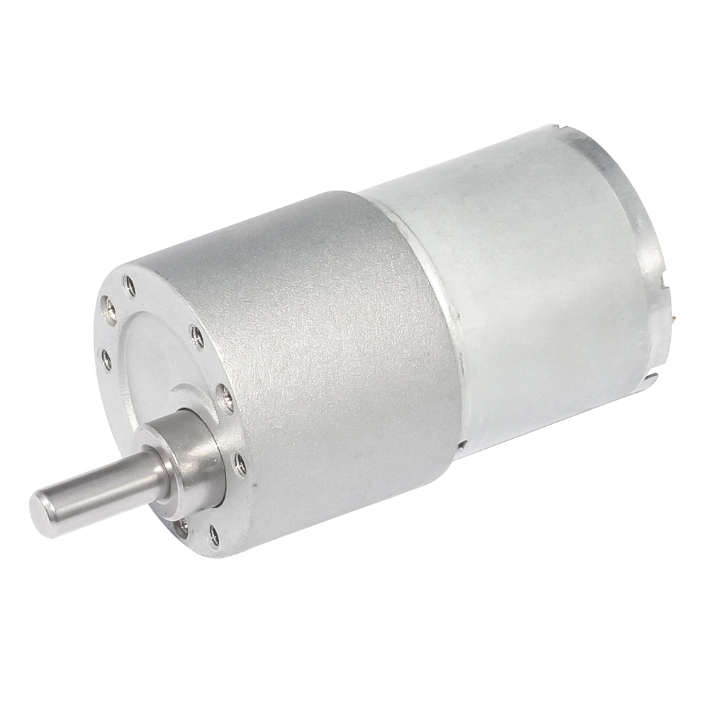 37GB3530 Dia 37mm Geared Motor DC 12V 40/50/90rpm 2.5W 0.3A High Torque Small Size Brush Gear For DIY Hobby