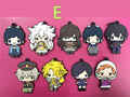 9 pcs/set gGame Touken Ranbu Online figure pendants Japanese anime vol 1 2 3 4 5 keychains phone straps free shipping