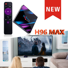 TV Box Android 9.0 H96 max-3318 Rockchip Quad-Core 100m lan 2G 16G/4GB 32GB/64GB 2.4G/5G Wifi Bluetooth 4.0 boxes smart tv