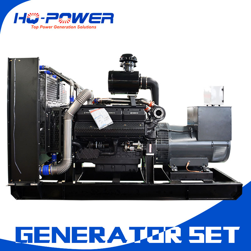 500kw powered shangchai engine generator shopping mall generators