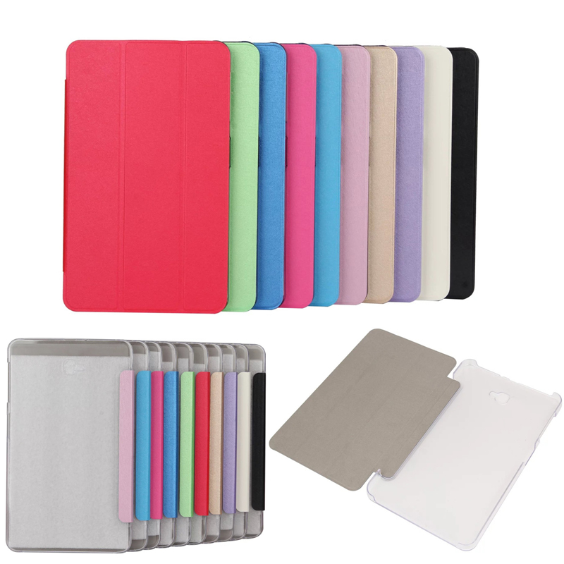 Business high quality Case for Samsung Galaxy Tab A6 10.1 T580 T585, Magnetic Folding Stand Leather Protective Tablet Cover T580