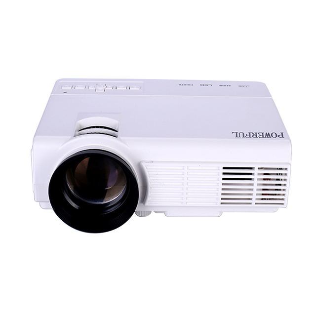 Best quality 1200 Lumens Support 1920x1080P MINI Projector for Home Cinema