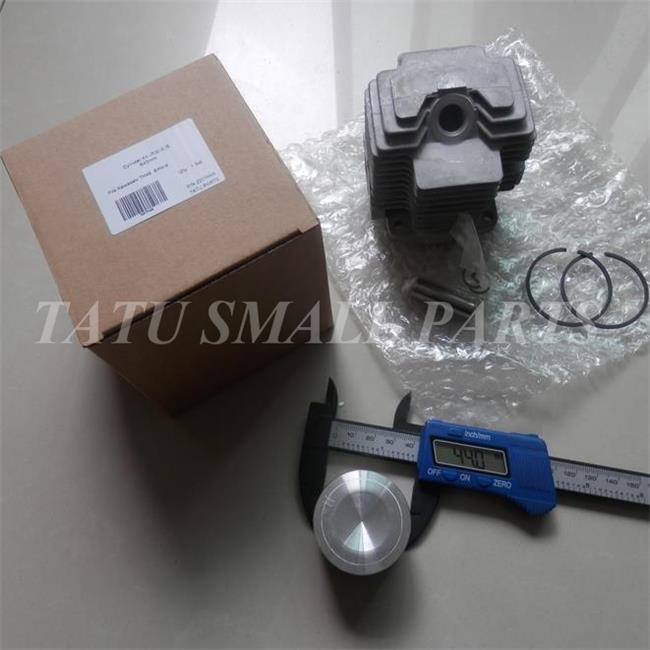 CYLINDER ASY  FOR KAWASAKI TH48   TRIMMER BRUSHCUTTER  ZYLINDER HEAD  PISTON RINGS PIN CLIPS KITS cylinder