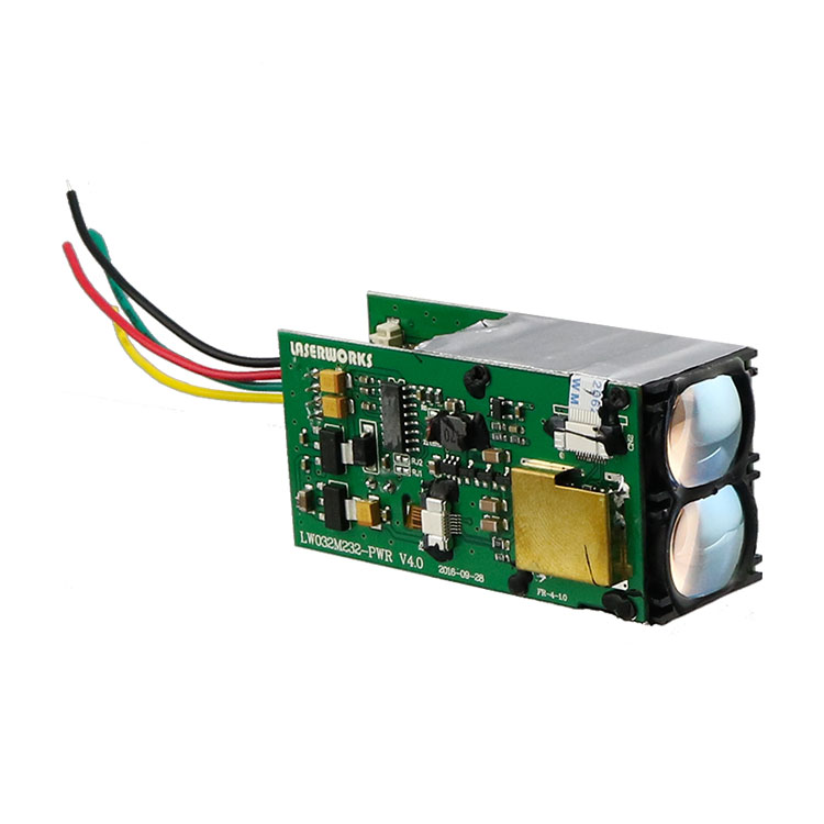 LaserWorks RS232 TTL Interface LRF Rangefinder Module 600 meter Serial Output for Industry Automation friendlyarm gprs gsm module rs232 serial interface for tiny6410 mini6410 tiny210 tiny4412 super4412 for development board