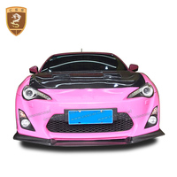 High quality carbon fiber hood cover for toyota gt86 brz accessories wholesale hot auto modified parts for toyota gt86 body kits