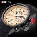 2016 New CURREN Fashion Men Watches Top Brand Luxury Men's Quartz Watch Auto Date Military Clock Sports Waterproof Wristwatch