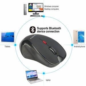 Image 3 - HXSJ Neue Bluetooth Maus Drahtlose Maus 2400 Einstellbare DPI para Ventanas 7/8. 0/8. 1/10/para Vista, para Android para