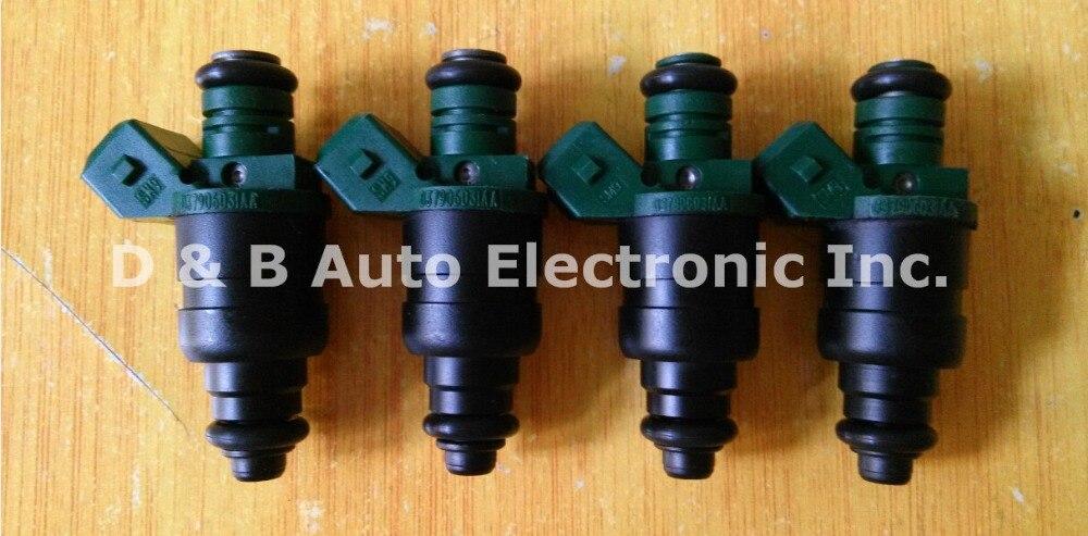 4 st / lot Original Bränsleinsprutare Bränsleinsprutningsmunstycken - Reservdelar och bildelar - Foto 2