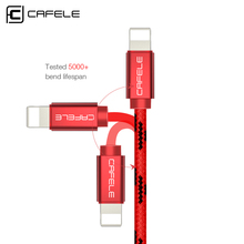 Cafele USB Charging Cable for iPhone 5/6/7 Fast Charging and Data Sync 8 Pin USB Cable for iPhone 5S/6S/7 Plus