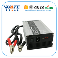 WATE 29.2V15A Charger 24V LiFePO4 Battery Smart Charger Used for 8S 24V aluminum caseOutput Power 600W aluminum case