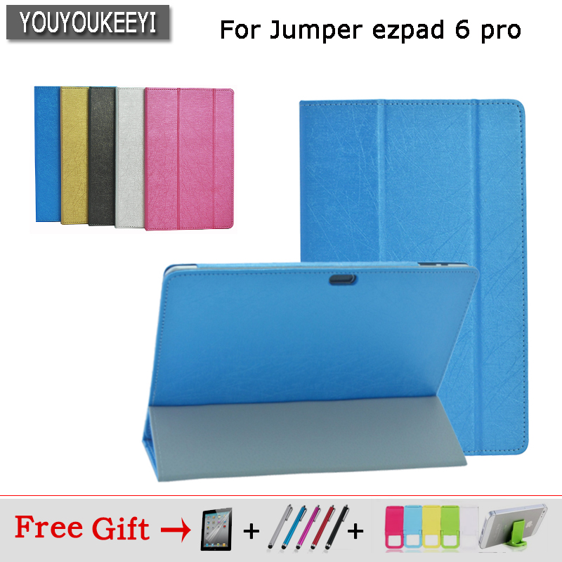 high quality special Case For Jumper ezpad 6 pro 11.6inch tablet Flip Stand PU Leather case for Jumper ezpad 6 pro/6s Pro+3gift 11 6 дюйма стыковочный интерфейс магнитной клавиатуры для ezpad 6 plus