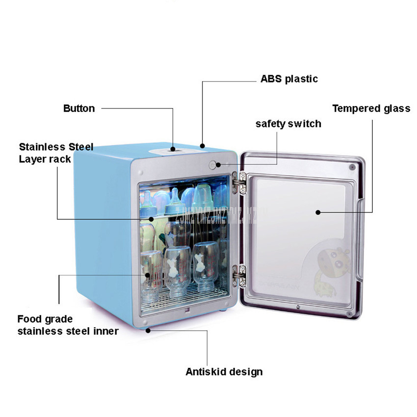 Baby Feeder Sterilization Cabinet UV Light Feeder Dryer