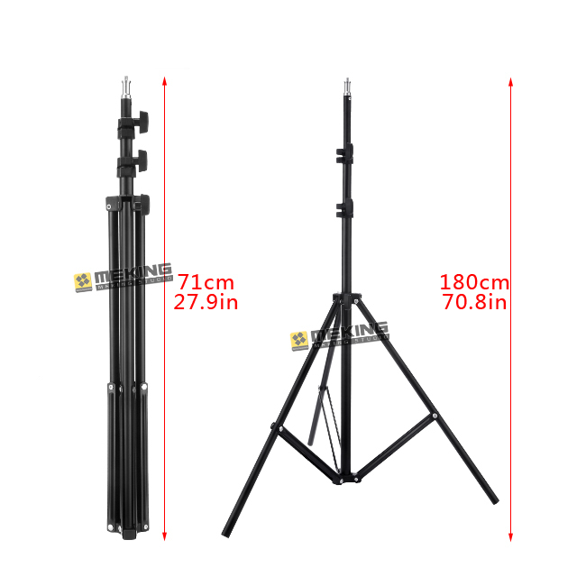 Meking 195cm 78in Light Stand W803 tripod for lighting support system photographic holder load 3 2kg