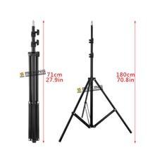 Meking 195 cm po lumière stand w803 trépied pour l'éclairage soutien système photographique support de charge 3.2 kg