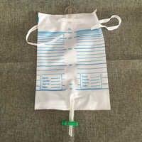 2000มิลลิลิตร1000มิลลิลิตรข้ามวาล์วทิ้งที่นึ่งปัสสาวะท่อระบายน้ำขาถุงถุงปัสสาวะทิ้ง,ขาปัสสาวะกระเป๋าจัดส่งฟรี