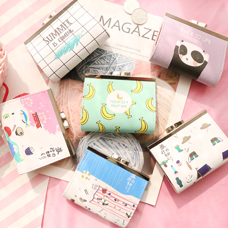 eTya Coin Purse Women Cartoon Cute Coin Box Girl Kids Coin Wallet Fashion New Small Money Card Coin Holder Bag Pouch Gift etya bank credit card holder card cover