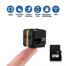 Mini Camera SQ11 HD  1080P (Full-HD)Sensor Night Vision Camcorder Micro video DVR DV Motion Recorder Lens