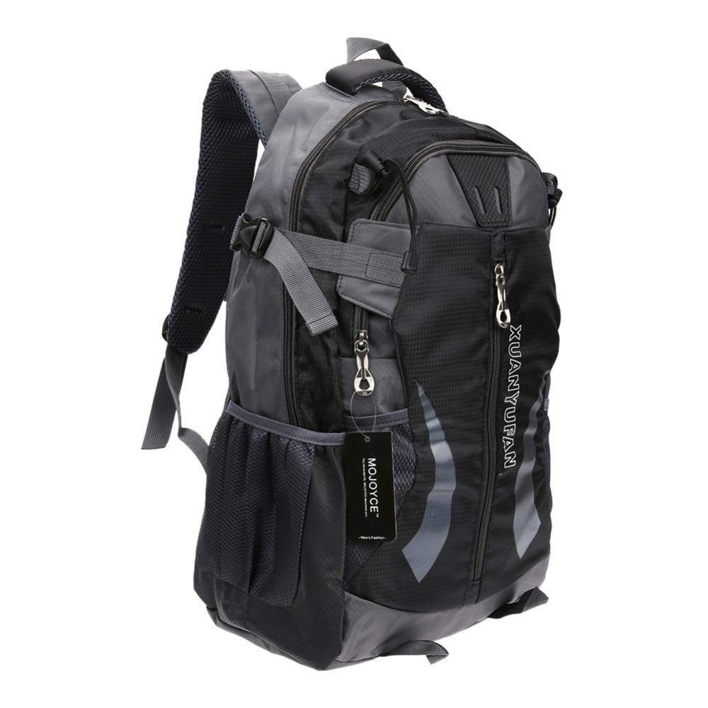 New Waterproof Nylon Hiking Climbing Backpack Outdoor Sports Mountaineering Camping Rucksack Men's Travel Backpacks Pack