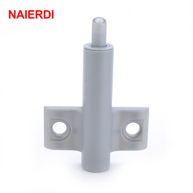 NAIERDI 10Set Kitchen Cabinet Door Stop Drawer Soft Close Closer Damper  Buffer Gray White Cabinet Catches