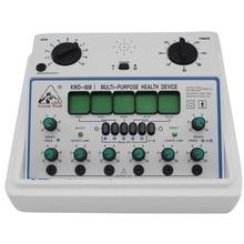 KWD-808 I многоцелевой уход за здоровьем Расслабление Обнаружение акупунктуры акупунктурные точки 6 каналов Выход патч массажер