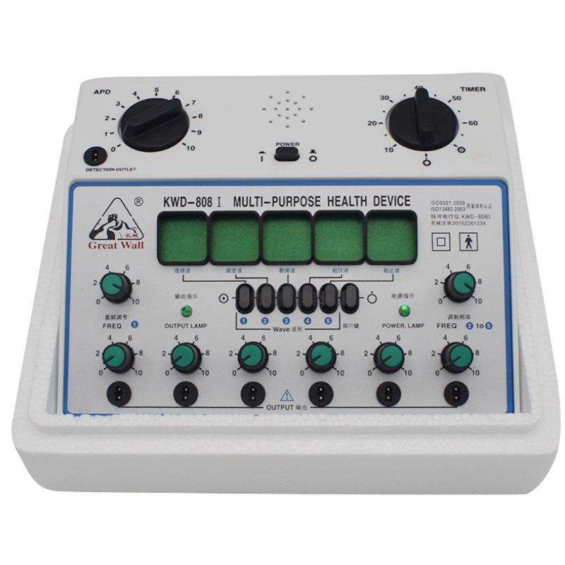 KWD-808 I Multi-Purpose Health Care Relax Detect Acupuncture Acupoints 6 Channels Output Patch Massager KWD-808 I Multi-Purpose Health Care Relax Detect Acupuncture Acupoints 6 Channels Output Patch Massager