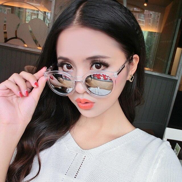 aa5525e2bff66 Miopia Óculos De Sol Das Mulheres Rodada Espelhado Vazrobe 1.0  1.5 ...
