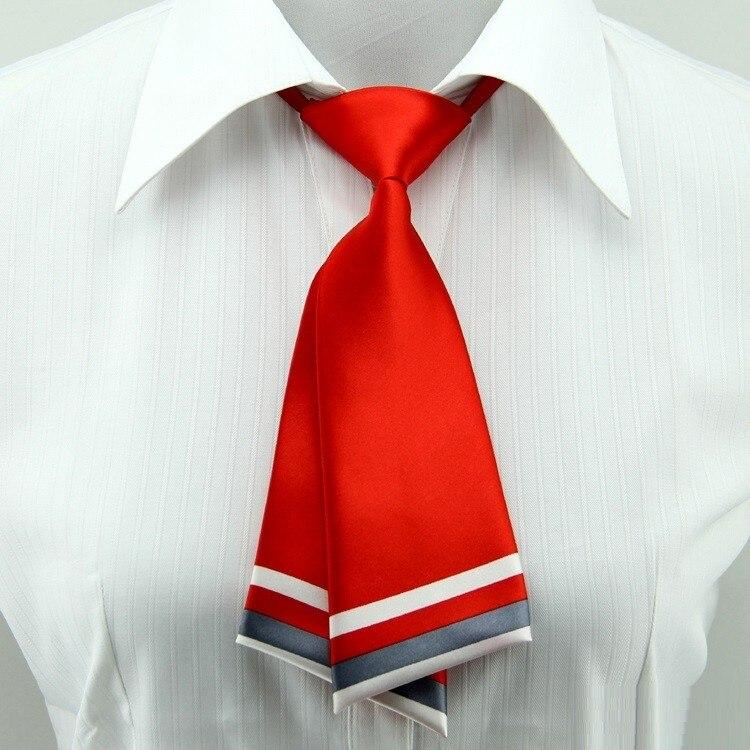 Krawatten & Taschentücher Heißer Schule Frauen Krawatte Rot Schwarz Schmetterling Frauen Fliege Weibliche Mädchen Student Hotel Schreiber Kellnerin Neck Tragen Seide Krawatten