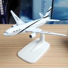 16 см El Al Израиль Boeing 777 Airlines модель самолета Бангкок Finsh A320 Пособия по немецкому языку Lufthansa A380 самолета Израиль модель дыхательных путей 1:400