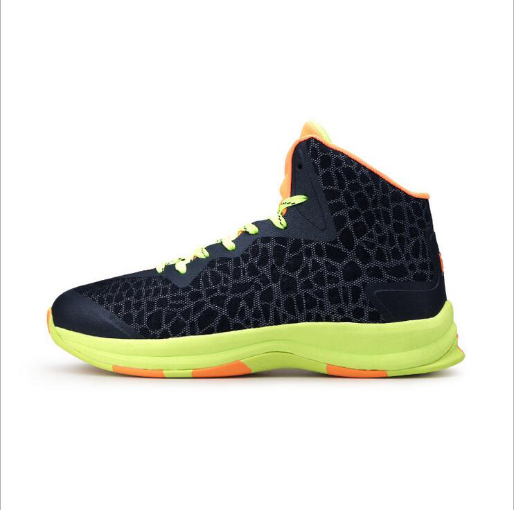 ФОТО Iverson Brand Breathable Luminous Men's Cheap Basketball Shoes High Top Sneakers homme zapatillas deportivas mujer Sport Shoes