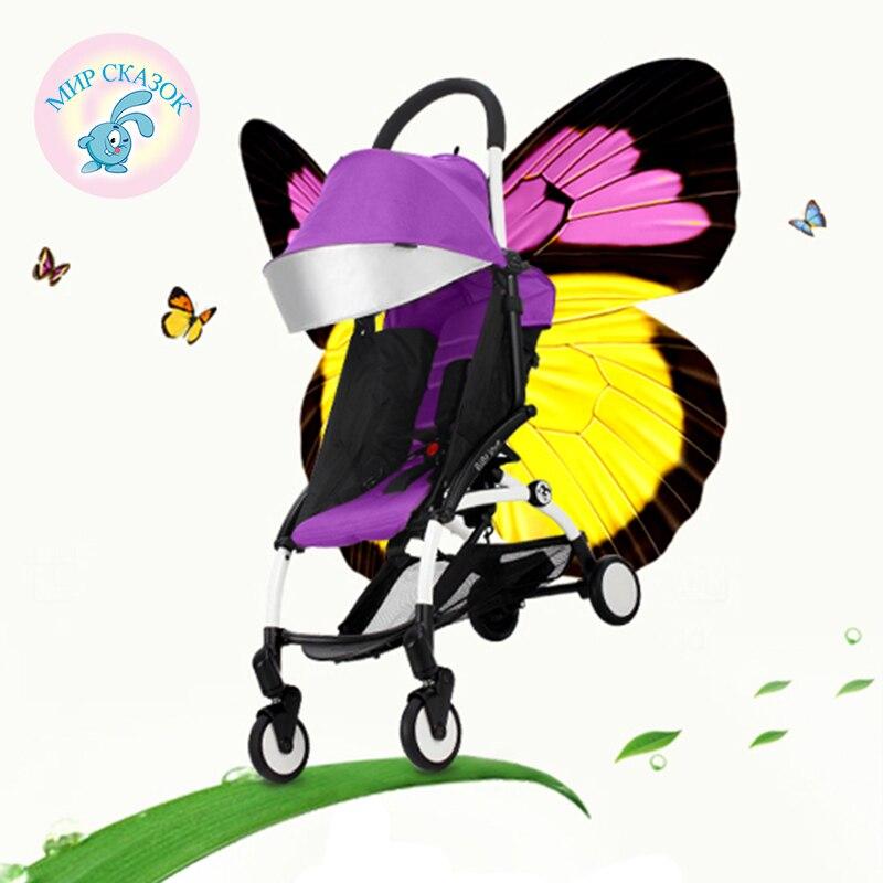 BABY YOYA детская коляска Автомобиля Коляска Легко Нести 5.8 кг Русский бесплатная доставка