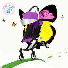 Russian free shipping baby stroller umbrella car stroller Children stroller baby stroller car summer Ultraportability
