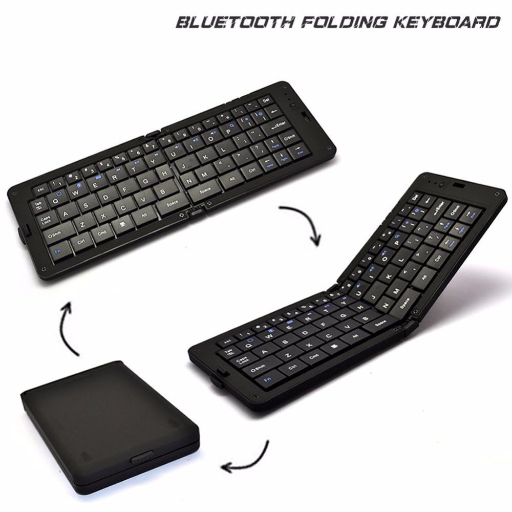 1 Stück Cool Tragbare Mini 68-key Bluetooth Tastatur Für Home & Office & Computer & Tablet-computer Und Mobiltelefon