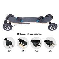 Горячая Распродажа 40 км/ч Bluetooth пульт дистанционного управления электрический скутер, 36 В 11A Батарея электрических скейтборд