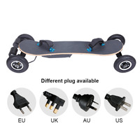 Hot sale 40KM/H Bluetooth remote control electric scooter , 36v 11A Battery electrical skateboard