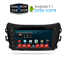 Android 7.1.1 Автомобильный DVD стерео player GPS ГЛОНАСС для Nissan Navara NP300 2014 2015 2016 2016 Авто Радио 3G wi-Fi аудио