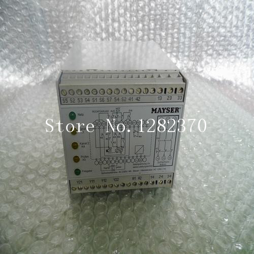 все цены на [SA] New German original authentic MAYSER safety relay SG-SUE4114NA spot онлайн