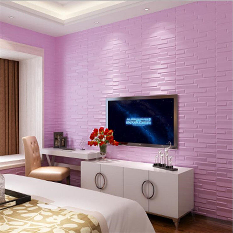 60*60 Cm Wasserdichte 3D Wandaufkleber Sicherheit Pe Schaum Dekorative Wand  Fliesen Diy Hauptdekor Tapete