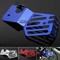 Para yamaha yzf r3 yzf r25 yzf-r3 yzf-r25 2014-2015 acessórios da motocicleta tanque de recuperação de refrigerante blindagem protetor de tampa azul