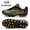 TIEBAO Brand Professional AG Soles Football Soccer Shoes Outdoor Lawn Sports Training Soccer Cleats Sneakers For Kids Teenagers