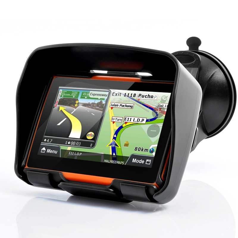 4-3-Inch-Car-GPS-Navigation-TFT-Touch-Screen-Bluetooth-Waterproof-Motorcycle-GPS-Coche-Navigator-128MB