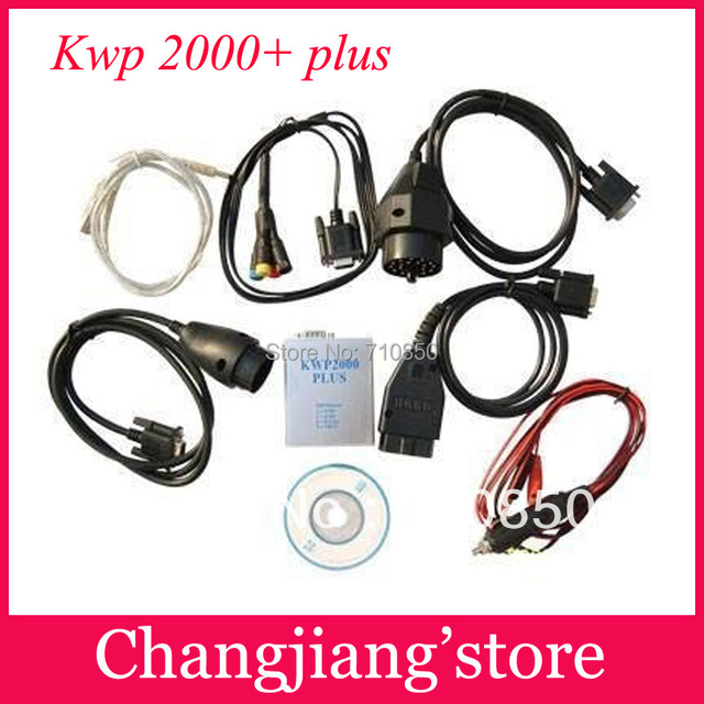 2017 Super Functional KWP2000 PLUS ECU KWP 2000 Remap Flasher OBDII EOBD Free Shipping by DHL/EMS