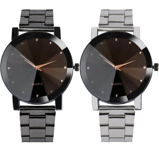 Moment # L04 Women Quartz Watch Relogio Masculinos Fashion Dial Time Men Clock D