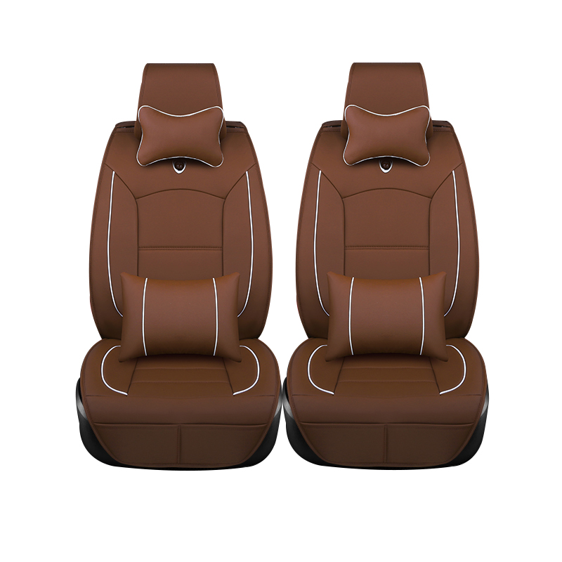(Only 2 front) leather car seat covers for Renault Duster Scenic Clio Megane Laguna Espace Sandero Car Styling accessories 1 18 otto renault espace ph 1 2000 1 car model reynolds