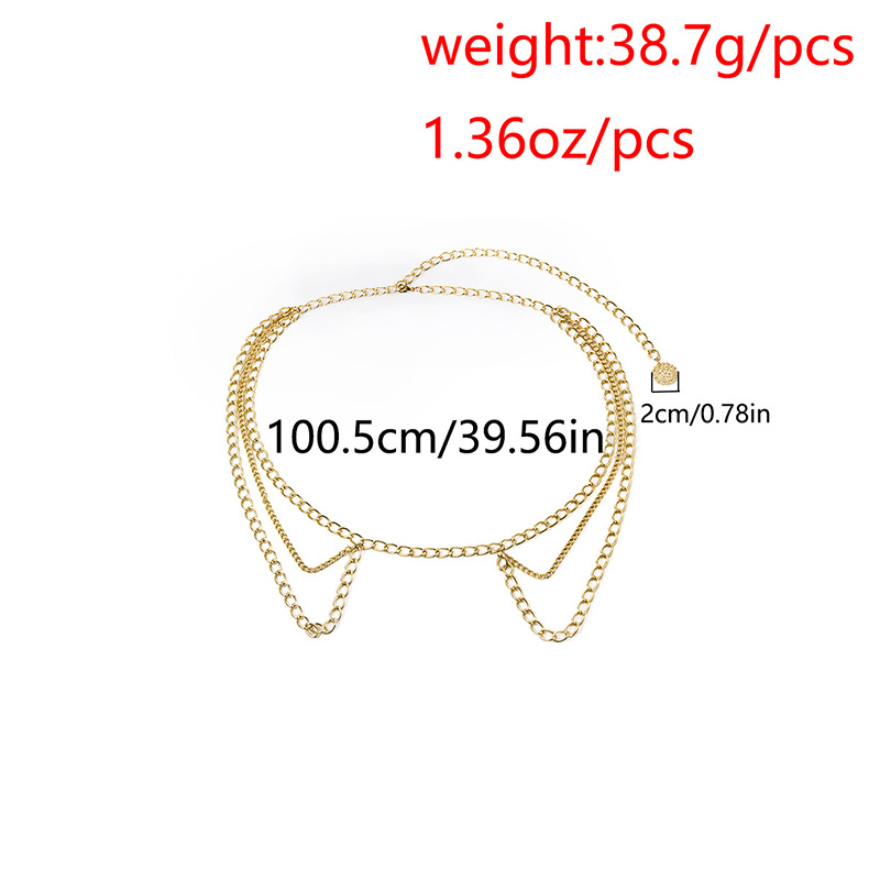 HTB1ldWhdoKF3KVjSZFEq6xExFXa8 - BLA Luxury Women Chain Belts Waistbands All-match Waist Gold Silver Multilayer Long Tassel Chain Belts For Party Jewelry Dress 3