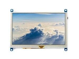 Image 2 - 5 بوصة مقاوم شاشة تعمل باللمس LCD G 800x480 HDMI عرض شاشة الكمبيوتر يدعم التوت Pi/BB الأسود/الموز Pi/البرتقالي Pi الخ