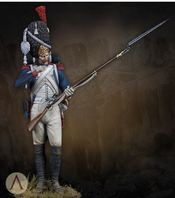 1/24 75mm Ancient Grenadier Of Guard 75mm    Toy Resin Model Miniature Resin Figure Unassembly Unpainted